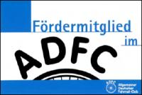 Logo Fördermitglied im ADFC