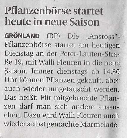 Rheinische Post 14.04.2015
