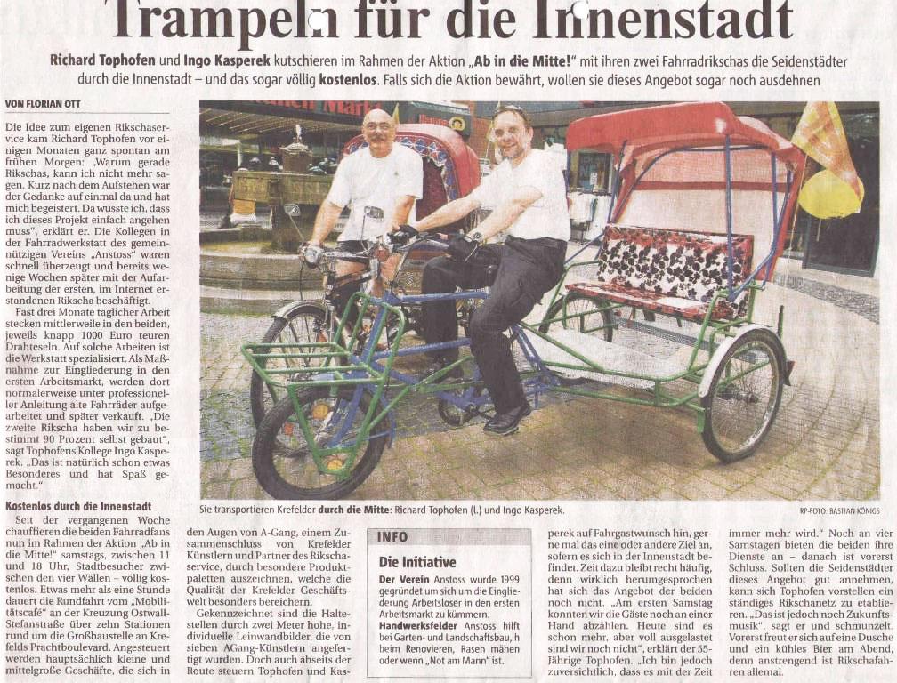 Rheinische Post 28.07.2008
