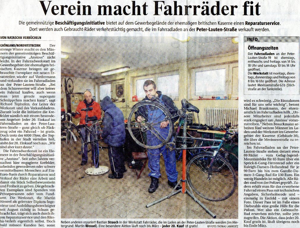 Rheinische Post 16. 02.2010