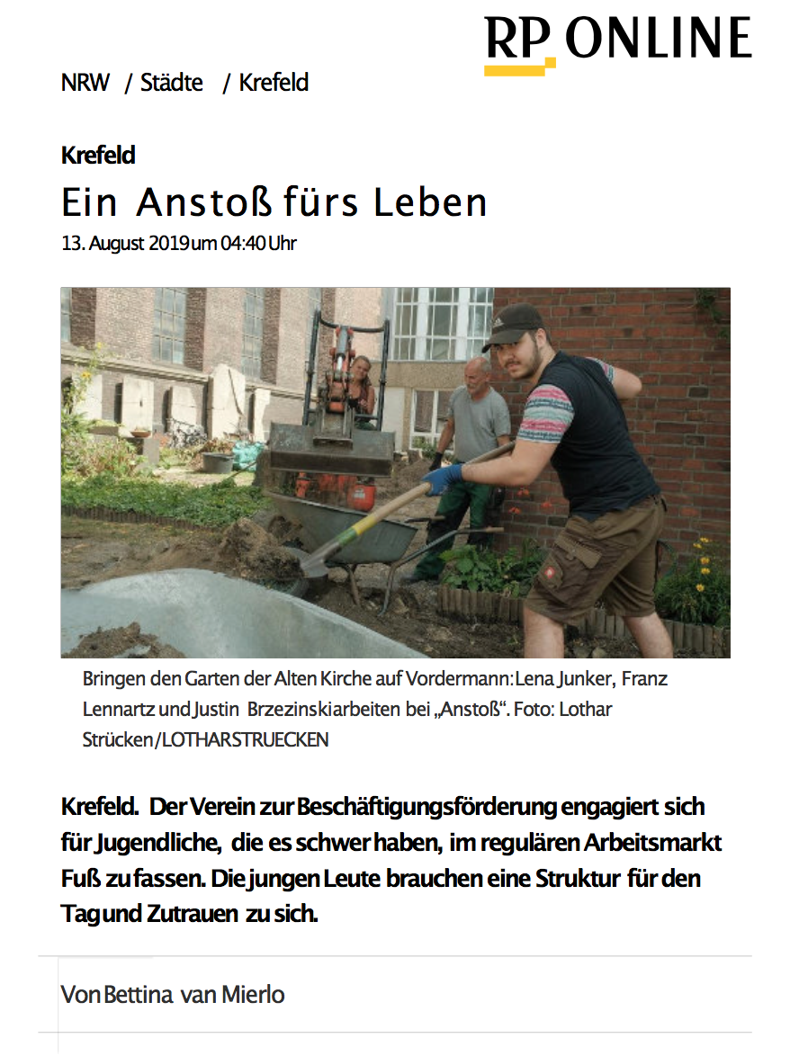 Rheinische Post 13.08.2019